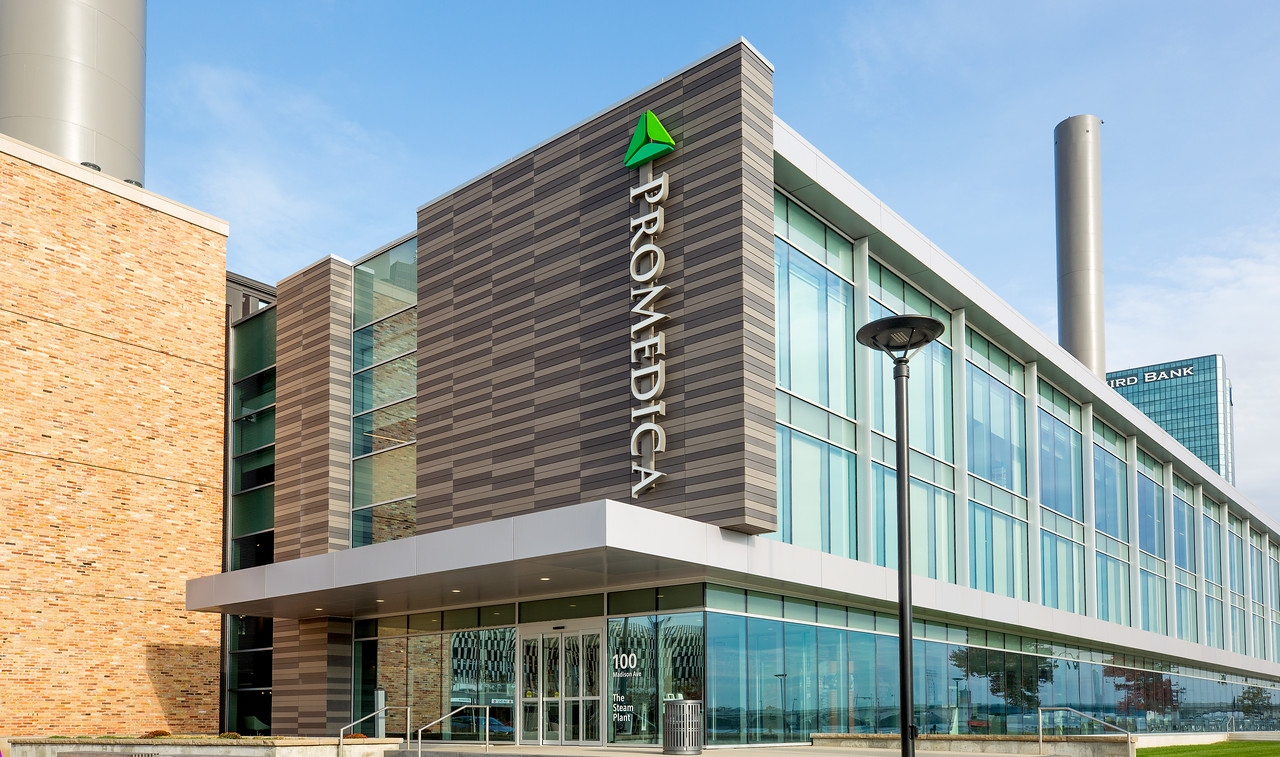 ProMedica Steam Plant Headquarters Terreal North America
