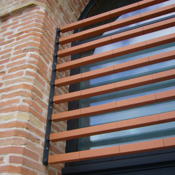 Autan Terracotta Sunscreens Installation Photo