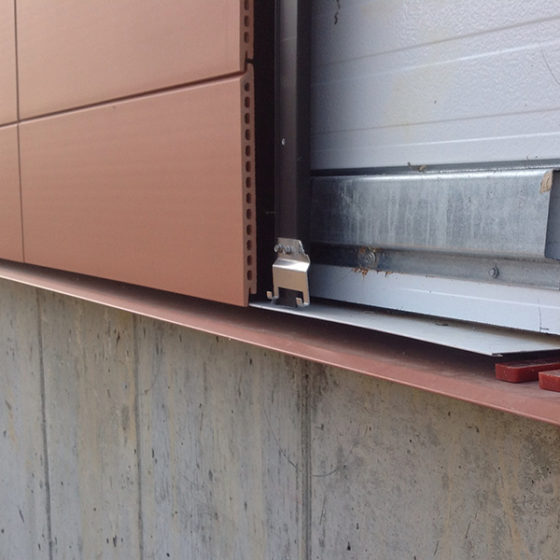 Piterak XS Terracotta Cladding Installation Photo
