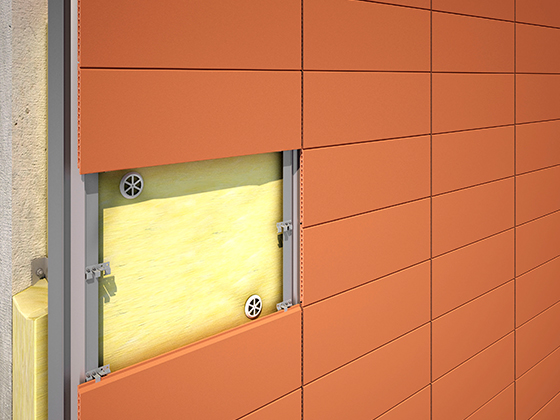 Piterak XS Terracotta Cladding Panel from Terreal