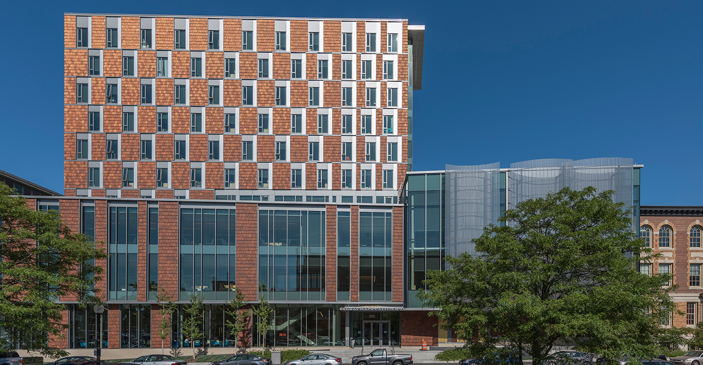 New England Conservatory Student Life and Conservatory Featuring NeXclad Terracotta Cladding