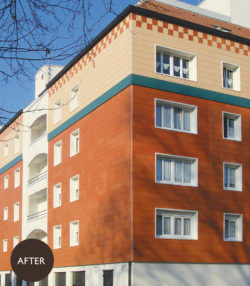 Terracotta cladding solutions for building facade renovations from Terreal North America