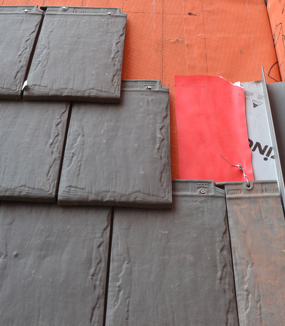 NeXclad Terracotta Small Module, Lightweight Slate Surface Cladding from Terreal North America